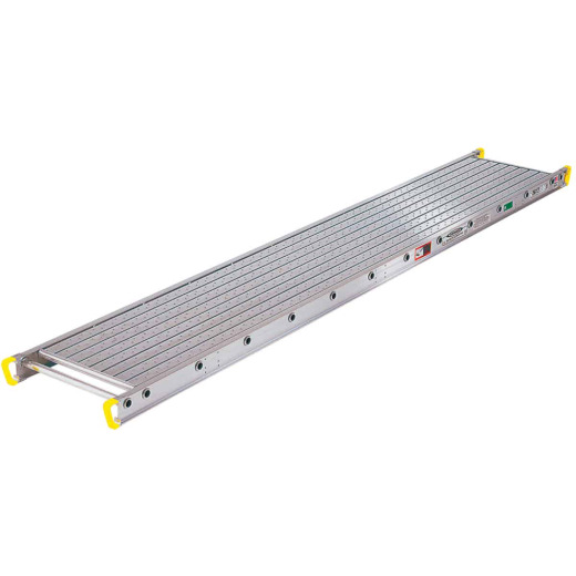 Werner Task-Master 2 Person, 500 LB. Load Capacity 16 Ft. Aluminum Stage Extension Plank