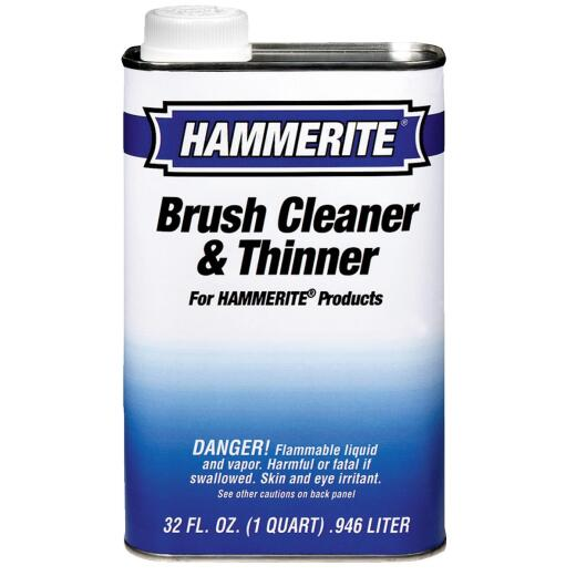 Hammerite 1 Quart Brush Cleaner And Paint Thinner