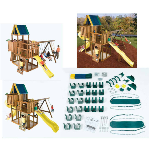 Swing N Slide Kodiak Playground Kit
