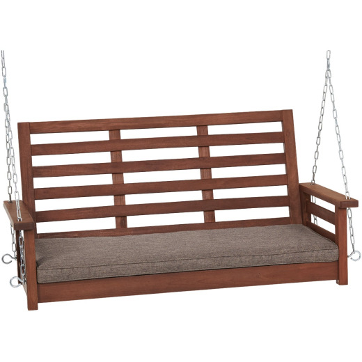 Jack Post 51 In. W. x 23.5 In. H. x 24 In. D. Indonesian Hardwood Porch Swing