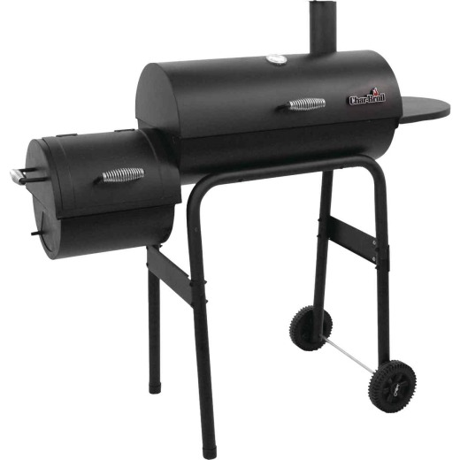 Char-Broil 430 28 In. Dia. 290 Sq. In. Offset Charcoal/Pellet Smoker
