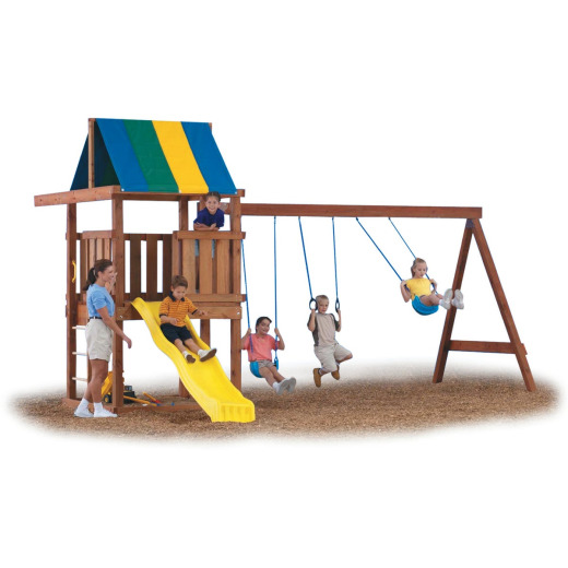 Swing N Slide Wrangler Playground Kit ( Lumber and Slide not Included)