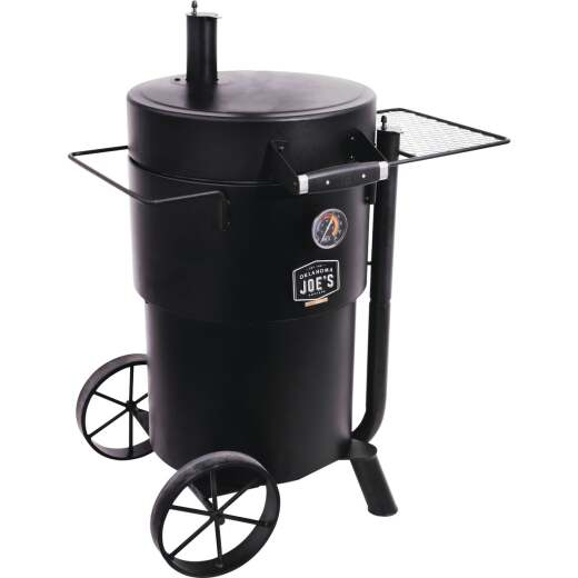 Oklahoma Joe's Bronco 18.5 In. Dia. 284 Sq. In. Drum Smoker