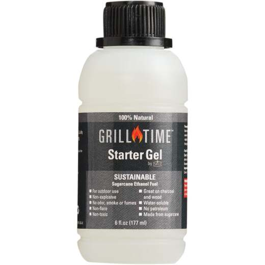 Grill Time 6 Oz. Charcoal Starter Gel